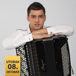 Nikola Peković, harmonika