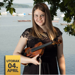 Branka Baroš, violina i Senka Simonović, klavir