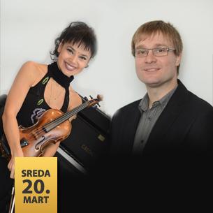 Emina Smolović, violina Bojan Mladenović, klavir