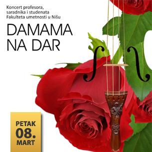 DAMAMA NA DAR – Svečano otvaranje koncertne sezone FU 2013.