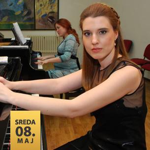Kristina Milovanović, klavir