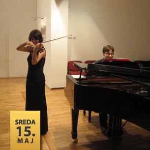 Mina Mendelsson, violina Bojan Mladenović, klavir