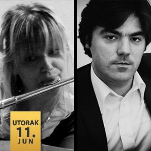 Jelena Jakovljević, flauta Stevan Spalević, klavir