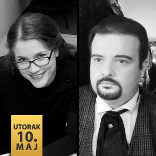 Saša Arsenkov, tenor i Marija Dinov Vasić, klavir