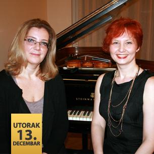 Katarina Tešenji Kovacevski, violina i Dragana Raić, klavir
