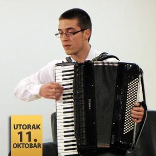 Dino Suljković, harmonika
