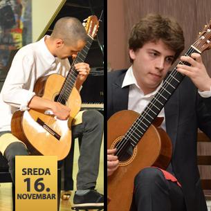 Dušan Đorđević, gitara i Miloš Vuković, gitara
