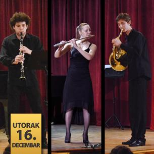 Koncert studenata katedre za duvačke instrumente