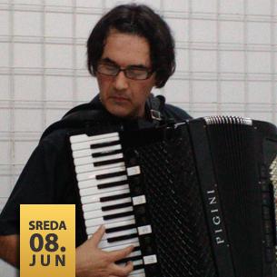 Dejan Živković, harmonika