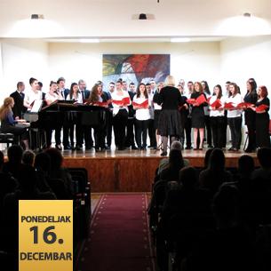 Koncert vokalnih grupa i hora Fakulteta umetnosti