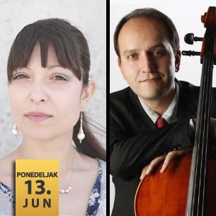 Đorđe Milošević, violončelo i Bojana Dimković, klavir