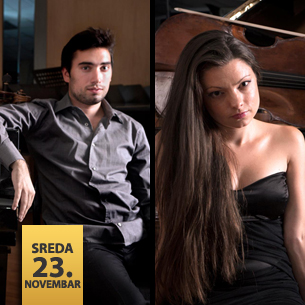 Filip Tomić, violončelo i Jovana Radovanović, klavir