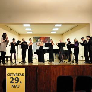 Koncert studenata flaute