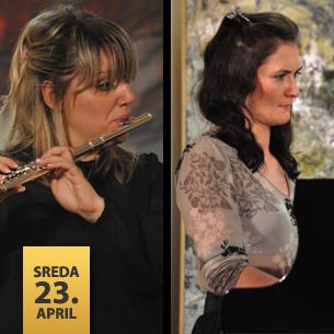 Jelena Jakovljević, flauta i Senka Simonović, klavir