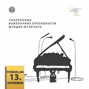 Koncertna promocija CD izdanja Fakulteta umetnosti