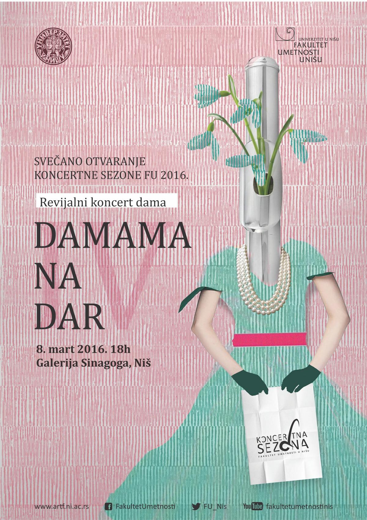 Plakat - Damama na dar 2016 WEB
