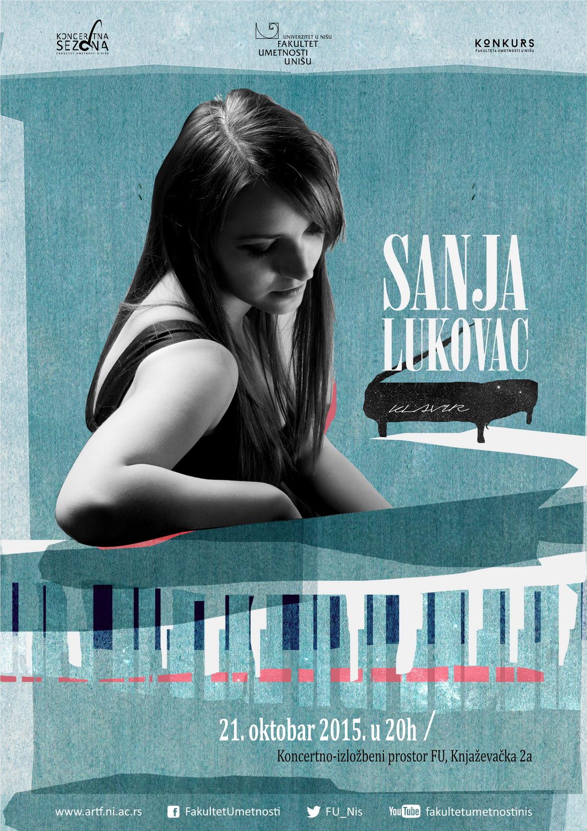 Sanja Lukovac - plakat WEB